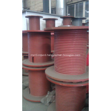 Construction Machinery Spare Parts Main Winch Drum