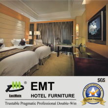 First-Class Manufacturing Wooden Hotel Bedroom Set (EMT-B1204)
