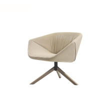 Metal Swivel Base Ella Easy Lounge Armchair