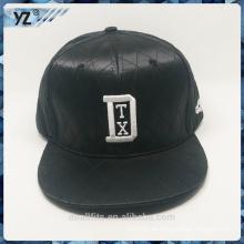 Leder mit dem Verkauf wie hotcakes snapbanck Hut und 3D emboridery