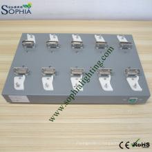 Станции зарядки для Минирования Сид светильника Горнорабочей крышки 10 слотов