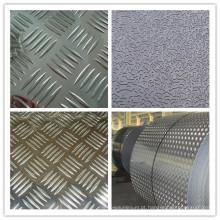 Venda imperdível! Placa de piso de alumínio com 5 barras