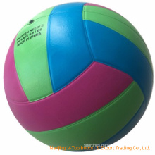 Three Color Official Size Rubber Sporting Volleyball