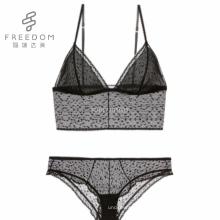 Новый дизайн дамы горячие сексуальное черный полный прозрачный сетчатая ткань женщины нижнее белье сексуальный бюстгальтер и трусики установить изображения