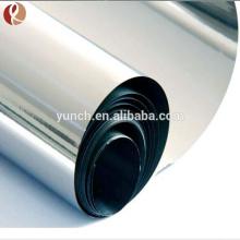 Lámina de titanio Ti de alta pureza 99.99%