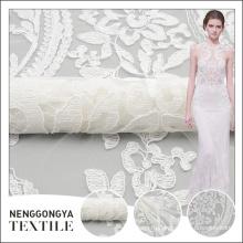 Китай профессиональное изготовление элегантная тесемка сетки цветочный дизайн вышивки