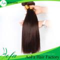 Trama brasileña sin procesar brasileña del pelo de la Virgen del pelo humano de 7A