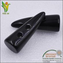2 отверстия 3,5-5 см полиэфирной смолы кнопка переключения для пальто