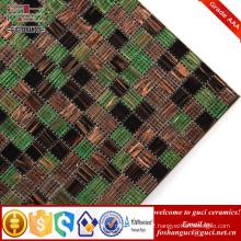 China supply Hot - melt mosaic tile for swimming pool mosaic