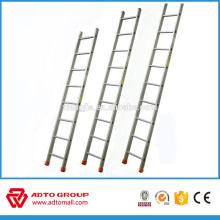 escalera de aluminio de un solo lado, escalera de un solo poste, escalera de construcción