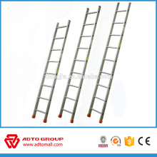 single side aluminum ladder, single pole ladder, construction ladder