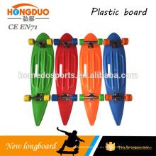 Пластиковый скейт лонгборд
