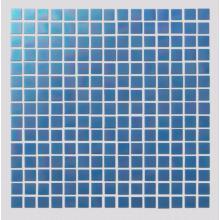 Blue Watercolor Creative Art Mosaic Tiles For Bathroom