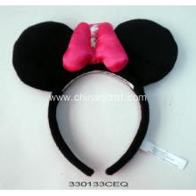 Black and pink Minnie headband