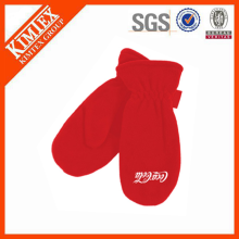 wholesale custom cheap winter adult polar fleece mittens
