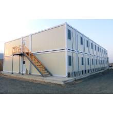 Moderno diseño de dos pisos combinados contenedor de la casa