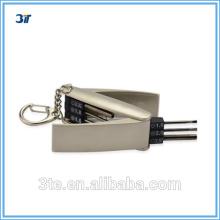 Optische Mini-Tasche Schlüsselanhänger Schraubendreher