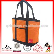 Bolsa grande grande de la lona, bolso de compras, bolso para la playa