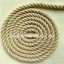 Cuerda de cáñamo para obras de arte y corbata (HRS-6 mm)