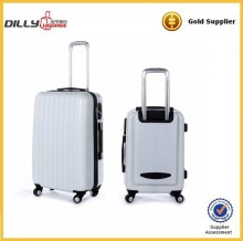 high quanity 2 piece abs pc trolley luggage set abs bag luggage