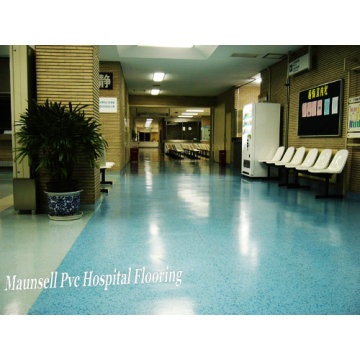 Plancher médical et hospitalier homogène / PVC pas cher