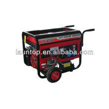 5.0kw Launtop GPL et générateur d'essence avec refroidissement par air, moteur 4 temps