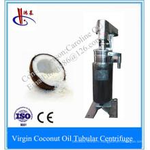 Séparateur tubulaire à grande vitesse pour l'huile de noix de coco standard de Vco