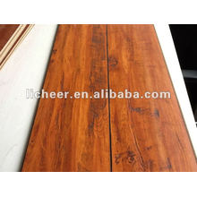 Laminate Flooring Registered Handscraped Surface/color laminated board