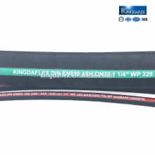 Oil resistant manual hydraulic hose crimping tool rubber hose