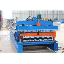 Máquina de modelagem de rolo de azulejo com vidros automáticos / máquina de formação de rolo de azulejo