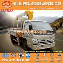 foton 4x2 2.0 tons XCMG crane truck with crane