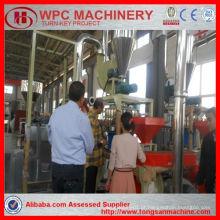 Máquina de fabricação de granulador de plástico PE PP / máquina de granulação