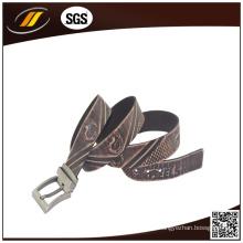 Hot Selling Custom Embossed Men Belts Cintos de couro genuíno (HJ3988)