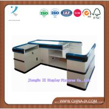 Wood & Metal Kassierer Desk oder Checkout Desk