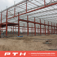 2015 Customized Design Prefab Steel Structure Warehouse From Pth