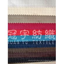 Geprägtes Sofa-Stoff-Kunstleder für Heimtextilien