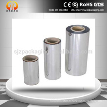 Deux côtés Corona film thermostatique Bopp sans soudure thermique