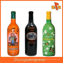 Accept custom order guangzhou vendor high shrinkage PET custom shrink wrap labels with your own design