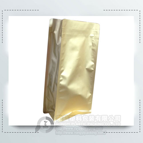 Gold Color Aluminum Foil Printed Bags