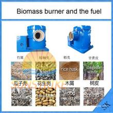 Économisez l'énergie biomasse brûleur de sciure de bois utilisé pour la Source de chauffage