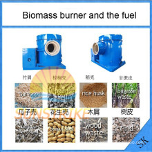 Save Energy Biomass Sawdust Burner Used to Heating Source