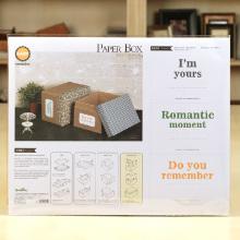 Personalizado design DIY papel kit caixa de presente