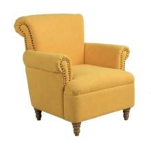Leisure Single Sea Fabric Sofa Restaturant Chairs