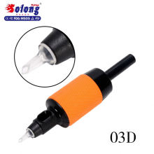 Solong G510-3DT 25mm Disposable Tattoo Tube Clear Tips 1 Inch Rubber Disposable Tattoo Grips