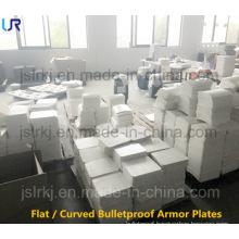 Flat/ Curved PE Panel Ballistic Inserts Bulletproof Plate
