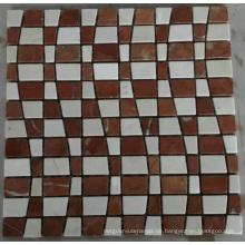 Neue Mosaik Fliese Stein Marmor Mosaik (HSM220)
