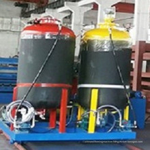 discontinuous polyurethane sandwich panel machine
