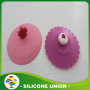 High Temperature Food Grade Silicone Cup Lid Cover