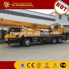 Heißer Verkauf 25 Tonnen LKW mit Mobiler hydraulischer Teleskopkran Kran QY25K-II nach Algerien