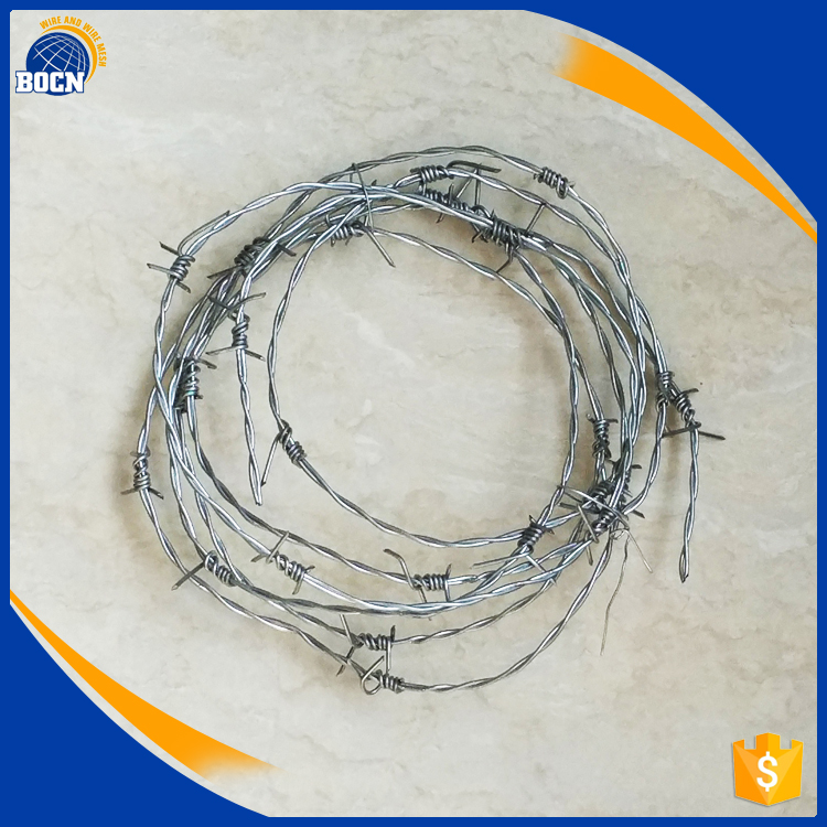 2017 bocn barbed wire price per roll